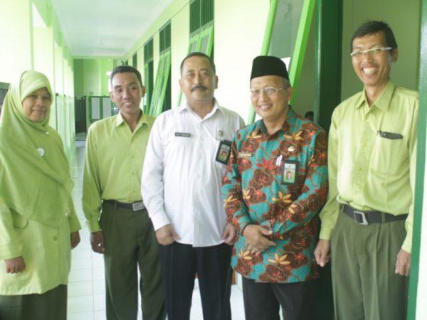 Kunjungan Kepala Kakemenag dan Kasipendma Kota Madiun