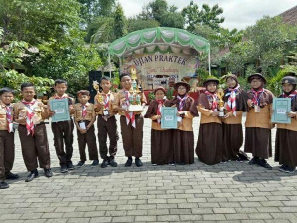 Berjaya dalam Mascofa Scout Competition IV tahun 2019 (Milad MTsN Kota Madiun)