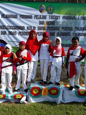 Kejuaraan Panahan Pelajar Tingkat Bakorwil 1 Madiun dan Kediri